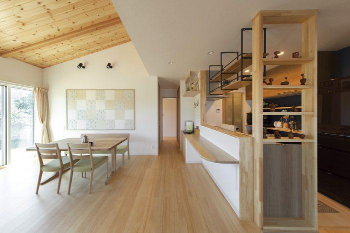 木の花ホームの施工事例写真_カフェみたいな家1
