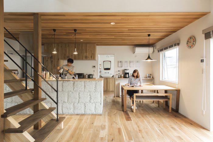 ノアホームの施工事例写真_カフェみたいな家1