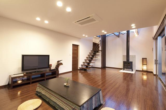 栃木建築社の施工事例写真_和モダンな家1
