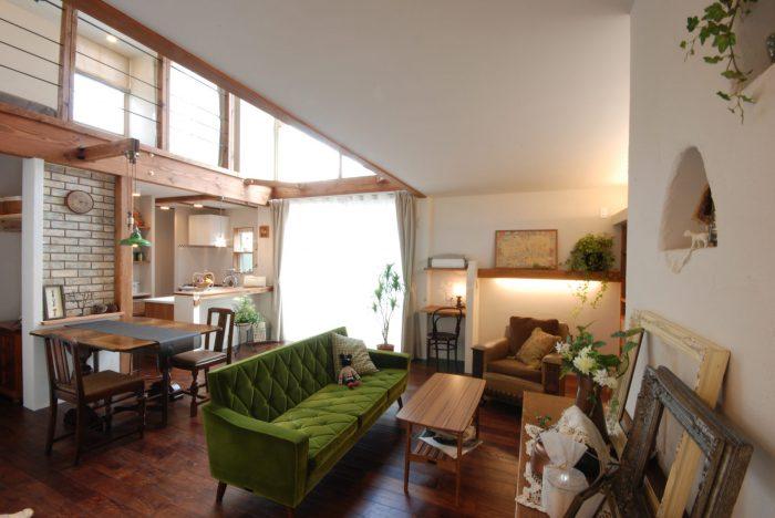 木の花ホームの施工事例写真_ナチュラルな家1