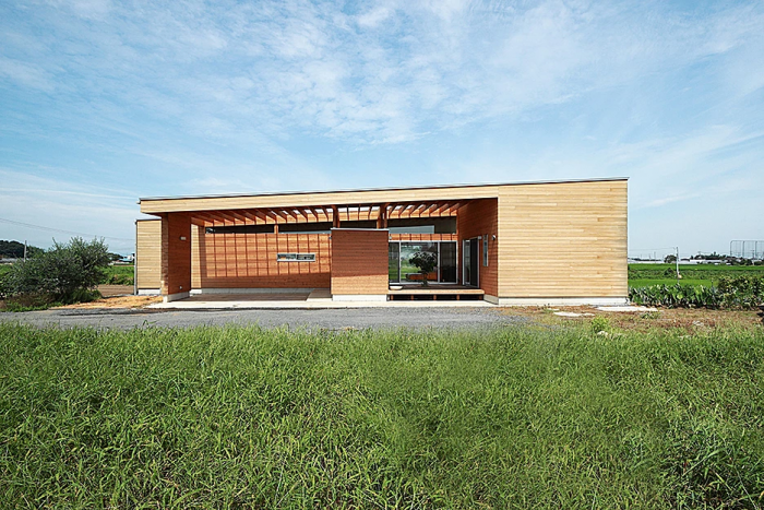 ALLデザインの施工事例写真_平屋の家1